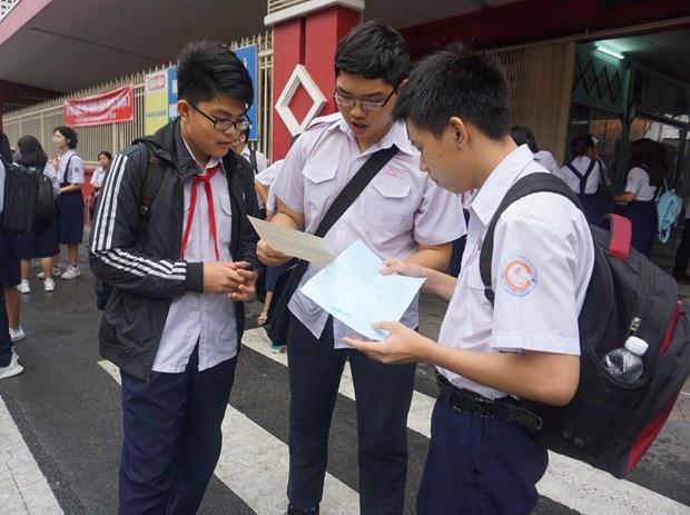 Nhiều điểm mới trong tuyển sinh lớp 10 năm học 2020-2021 tại Thành phố Hồ Chí Minh