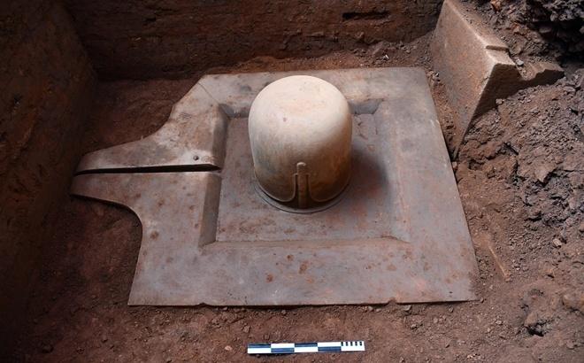 Phát hiện bộ Linga - Yoni liền khối thế kỷ IX lớn nhất Việt Nam tại Di sản Văn hóa thế giới Mỹ Sơn
