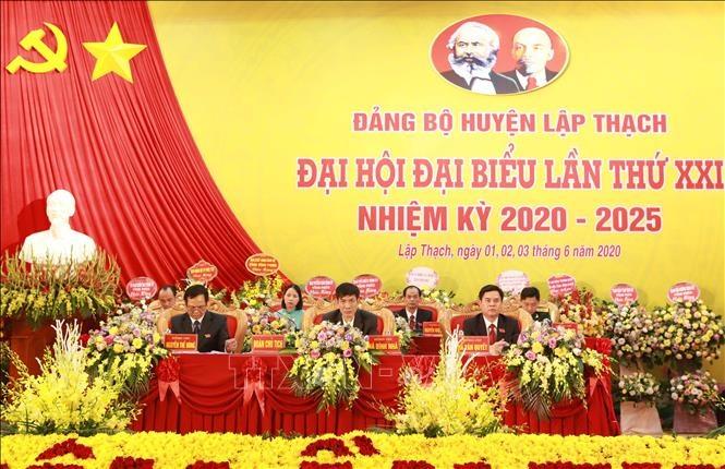 Huyện Lập Thạch, Vĩnh Phúc hướng tới phát triển công nghiệp và xây dựng nông thôn mới kiểu mẫu