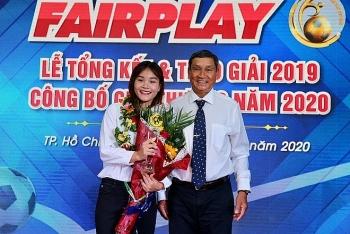 tuyen thu chuong thi kieu duoc trao giai thuong fair play 2019