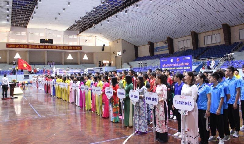 Khai mạc Giải vô địch trẻ và thiếu niên Võ cổ truyền toàn quốc lần thứ XXI