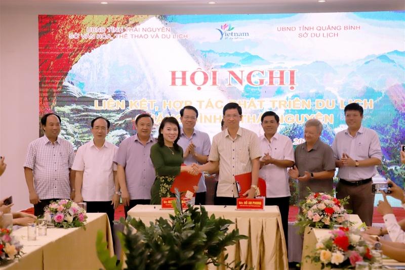 Liên kết hợp tác phát triển du lịch Quảng Bình-Thái Nguyên