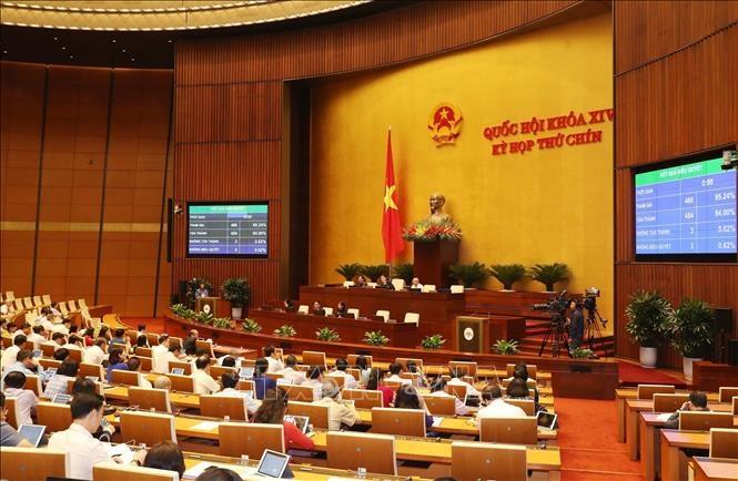 Nghị quyết Chương trình xây dựng luật, pháp lệnh năm 2021