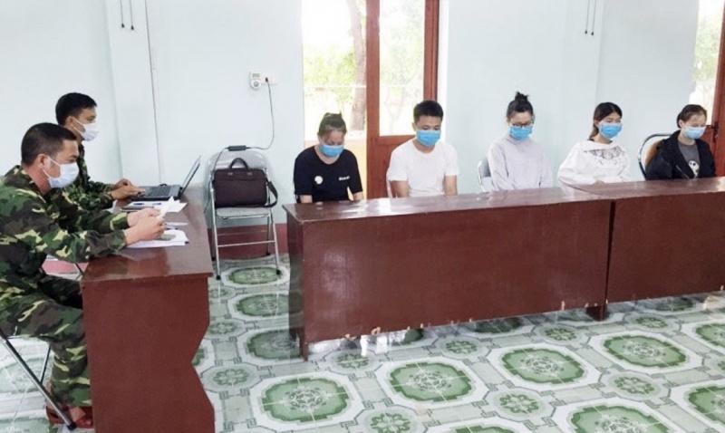 Đưa 5 đối tượng người Trung Quốc nhập cảnh trái phép vào Việt Nam đi cách ly