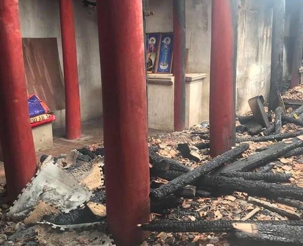 Cháy di tích ở Hà Nội: Hồn cốt văn hóa ngàn năm bỗng hóa... tàn tro!