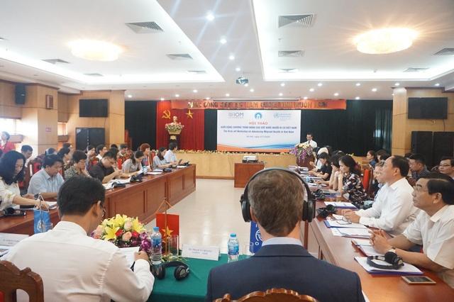 Hướng đến nâng cao sức khỏe người di cư Việt Nam