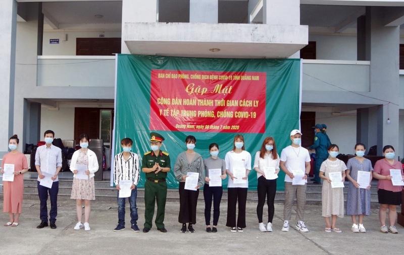 Dịch COVID-19: 341 công dân hoàn thành thời gian cách ly y tế