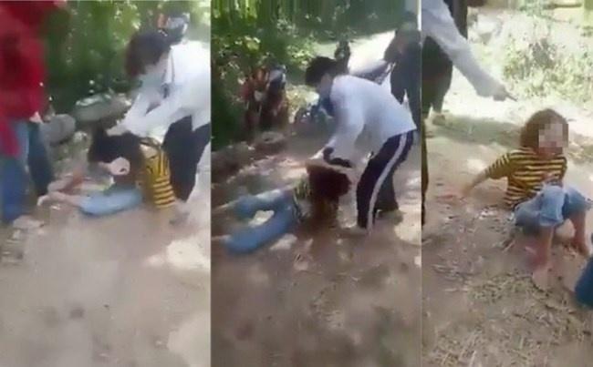 Xử phạt 2 nữ sinh Nghệ An đánh bạn học trong rừng