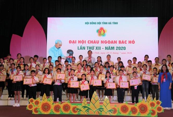 Hà Tĩnh tuyên dương 184 đội viên, thiếu nhi tiêu biểu