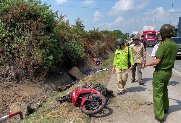 Liên tiếp xảy ra 3 vụ tai nạn nghiêm trọng trên Quốc lộ 5 đoạn qua Hải Dương