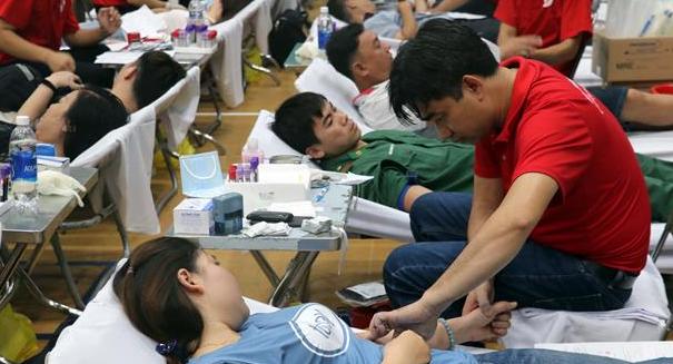 Hành trình Đỏ tiếp nhận hơn 800 đơn vị máu tại thành phố Vũng Tàu