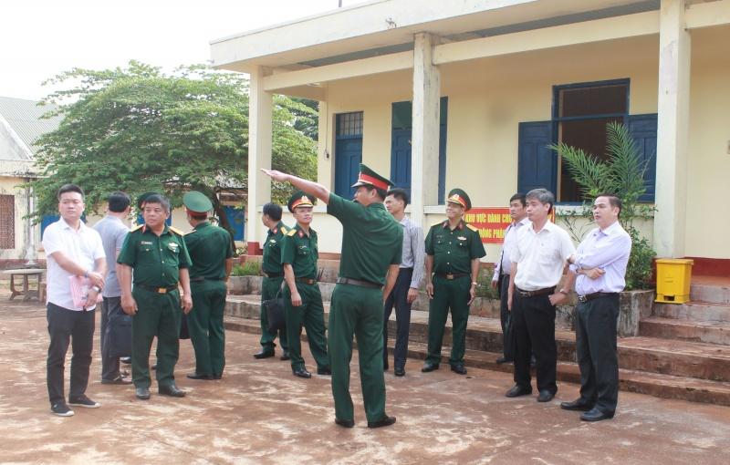Dịch COVID-19: Kiểm tra các cơ sở cách ly tập trung tại Đắk Lắk