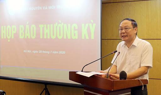 bo tai nguyen va moi truong hop bao thuong ky 6 thang dau nam va nhiem vu 6 thang cuoi nam 2020