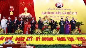 dai hoi dai bieu huyen thanh oai lan thu xxiii nhiem ky 2020 2025