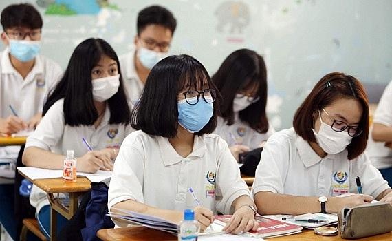 Đảm bảo các điều kiện phòng, chống dịch COVID-19 tại 143 điểm thi tốt nghiệp Trung học phổ thông