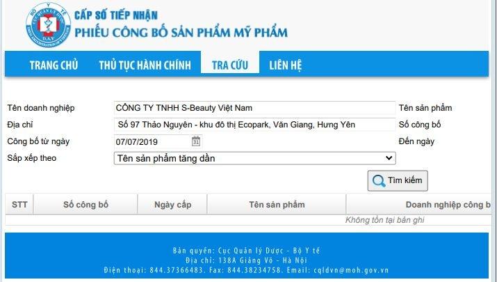 cong ty tnhh s beauty lam an phat dat nhung 3 nam chua he dong thue thu nhap doanh nghiep
