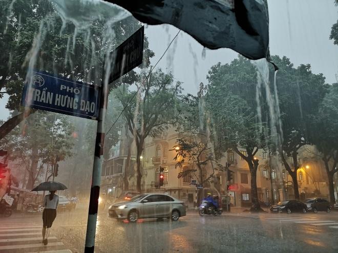 Từ ngày 3-5/8, Bắc Bộ tiếp tục có mưa vừa đến mưa to