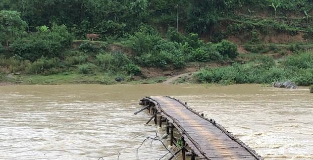 Mưa lớn gây ngập cục bộ nhiều nơi ở Phú Thọ