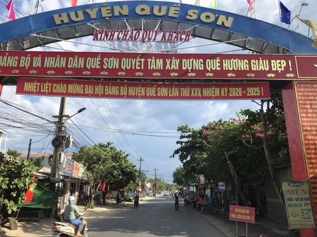 Quảng Nam phong tỏa những khu vực có nguy cơ cao