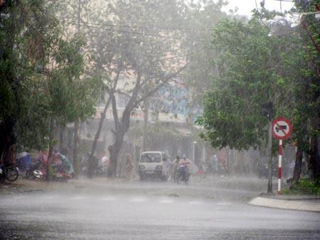 Bắc Bộ mưa lớn diện rộng, đề phòng thời tiết nguy hiểm