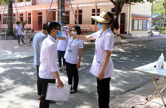 Có 352 thí sinh ở Quảng Ngãi dừng thi tốt nghiệp do liên quan đến bệnh nhân COVID -19