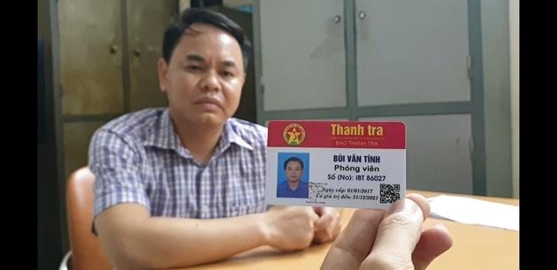 Mạo danh phóng viên để xin bỏ qua lỗi vi phạm giao thông