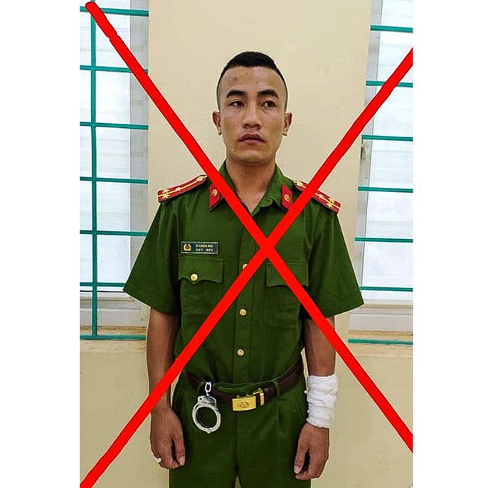 Điện Biên bắt giữ một đối tượng giả danh công an