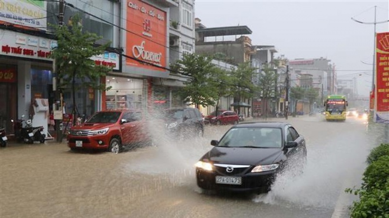 Mưa lớn gia tăng, Đông Bắc Bộ có nơi đặc biệt mưa to
