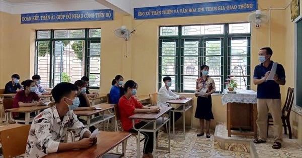 Công bố kết quả thi tốt nghiệp Trung học phổ thông đợt 2 từ 0 giờ ngày 16/9