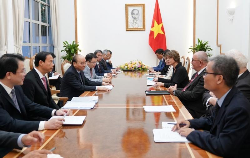 Thủ tướng Nguyễn Xuân Phúc tiếp các Đại sứ Hà Lan, Bỉ và các nhà đầu tư châu Âu