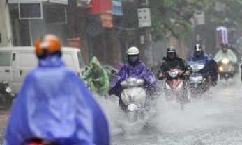 Từ 19-25/9, nhiều khu vực có mưa và dông, đề phòng thời tiết nguy hiểm