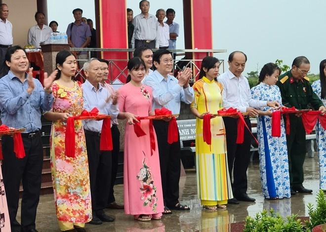 Khánh thành Đền tưởng niệm liệt sĩ Trung đoàn 88