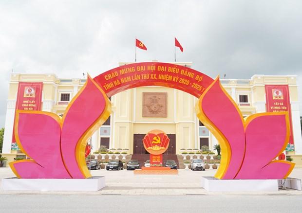 Đảng bộ Hà Nam - Đảng bộ đầu tiên tiến hành đại hội cấp tỉnh