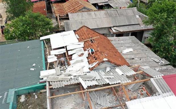 Hỗ trợ người dân Quảng Trị, Thừa Thiên Huế khắc phục thiệt hại do bão số 5
