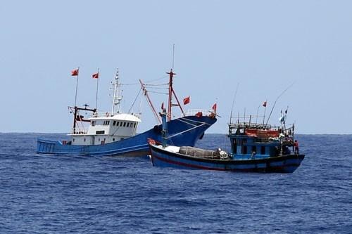 Phối hợp, ngăn chặn xử lý triệt để hành vi khai thác hải sản bất hợp pháp