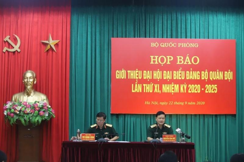 Đại hội Đảng bộ Quân đội diễn ra từ ngày 27-30/9