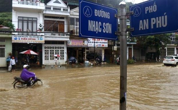 Mưa lớn gây thiệt hại tại các địa phương của Lào Cai