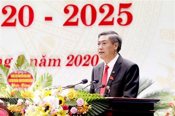 Đồng chí Nguyễn Hữu Đông tái cử chức Bí thư Tỉnh ủy Sơn La