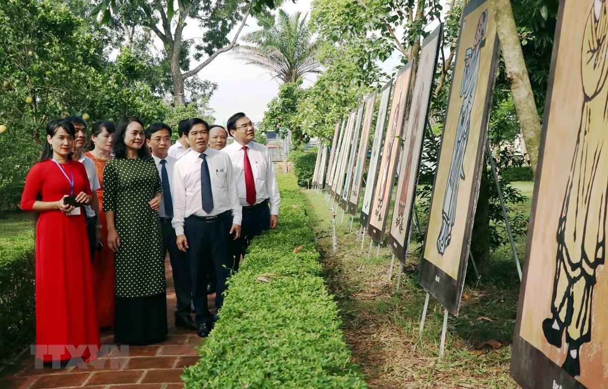 Triển lãm tranh minh họa Truyện Kiều và các tác phẩm tiêu biểu của đại thi hào Nguyễn Du