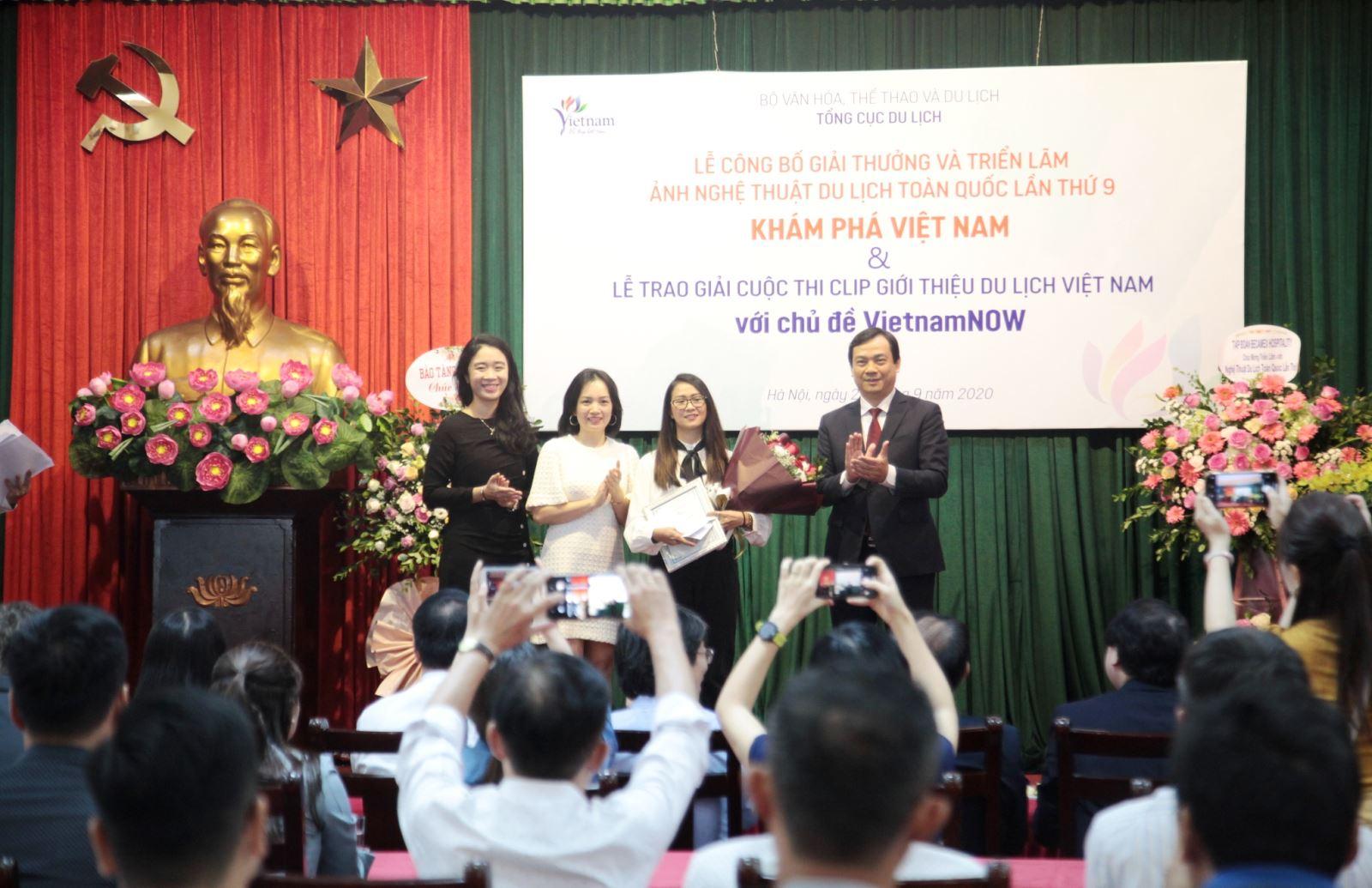 Trao giải cuộc thi ảnh nghệ thuật và clip quảng bá du lịch Việt Nam