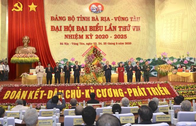 Khai mạc Đại hội đại biểu Đảng bộ tỉnh Bà Rịa-Vũng Tàu lần thứ VII