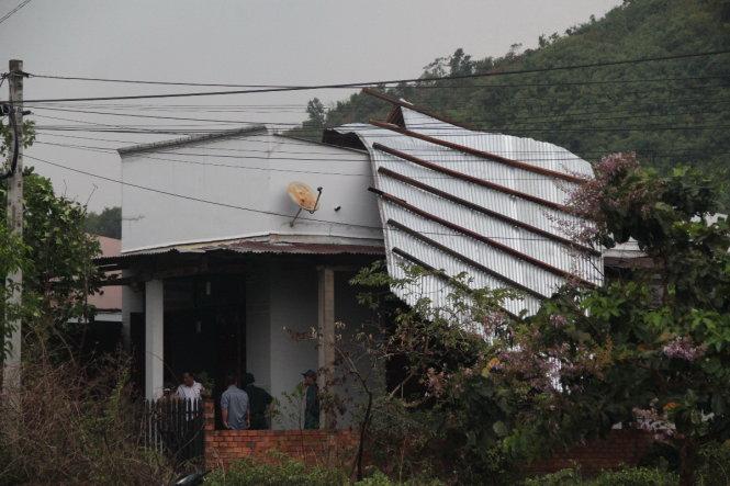 Lốc xoáy gây nhiều thiệt hại tại huyện Di Linh, tỉnh Lâm Đồng 