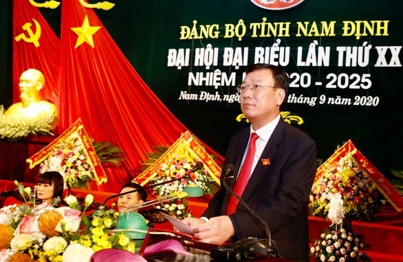 Đồng chí Đoàn Hồng Phong tái đắc cử Bí thư Tỉnh ủy Nam Định