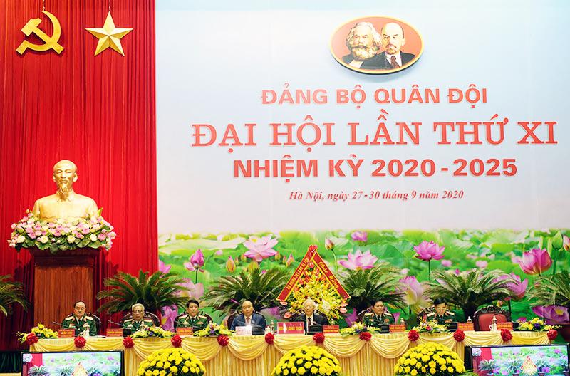 Khai mạc Đại hội đại biểu Đảng bộ Quân đội lần thứ XI, nhiệm kỳ 2020 - 2025
