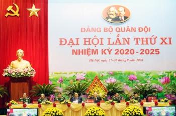 khai mac dai hoi dai bieu dang bo quan doi lan thu xi nhiem ky 2020 2025