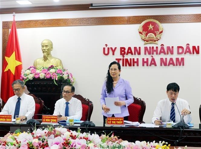 Tọa đàm thúc đẩy hợp tác kinh tế Hà Nam và các địa phương, doanh nghiệp của Nhật Bản 