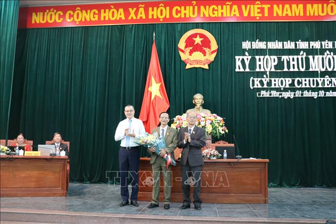Ông Lê Thanh Đồng được bầu giữ chức vụ Phó Chủ tịch HĐND tỉnh Phú Yên