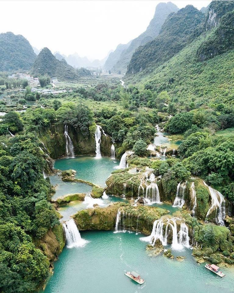 Sớm thí điểm đưa khách du lịch qua lại khu cảnh quan thác Bản Giốc (Việt Nam) - Đức Thiên (Trung Quốc)