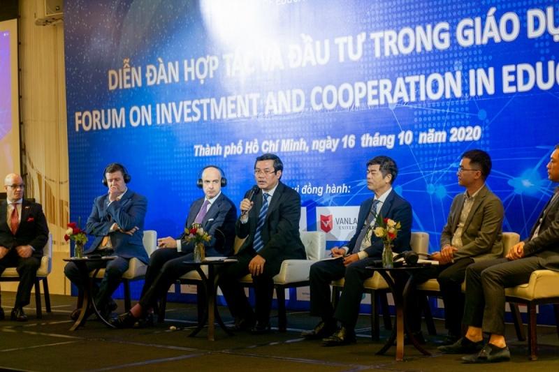 Thúc đẩy hợp tác, đầu tư trong lĩnh vực giáo dục