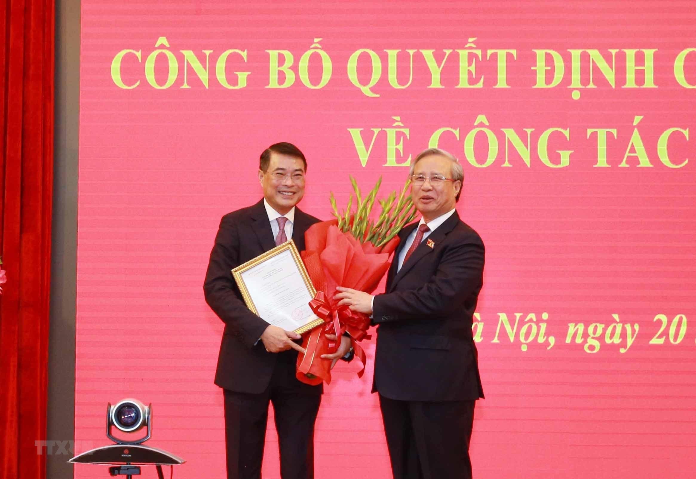 Đồng chí Lê Minh Hưng được điều động, phân công làm Chánh Văn phòng Trung ương Đảng